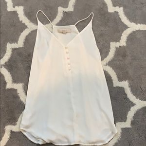 Lost button up cami sz xs